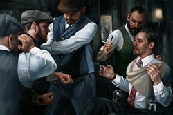 The Betrayal by Vincent Kamp - Hand Finished Limited Edition on Canvas sized 31x21 inches. Available from Whitewall Galleries